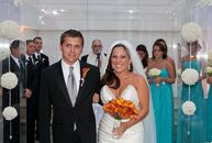 The Bride Jaimee DiMarco, 23, a 