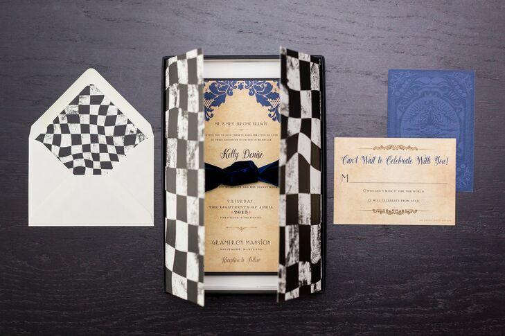 alice in wonderland themed wedding invitations, Wedding invitations