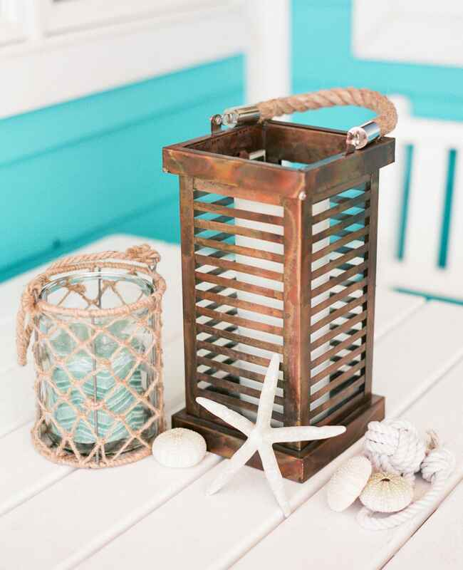 Nautical Copper Lantern |<img class=