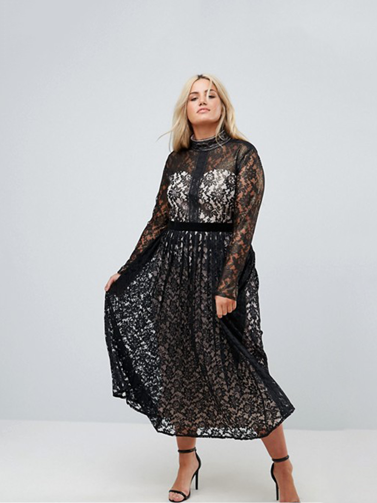 The Sheer Long Sleeves On This One Feel Sexy Yet Formal Enough For A Winter  Wedding.