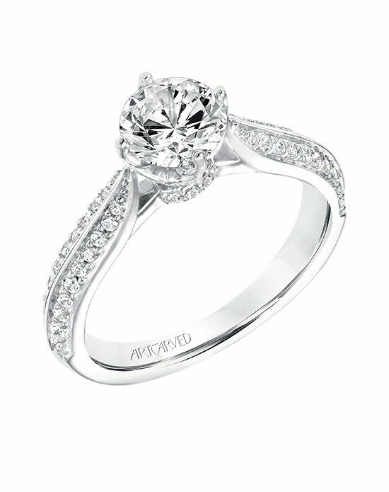 ArtCarved 31-V661ERW-E Engagement Ring photo