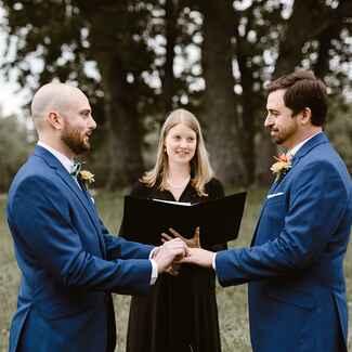 same sex wedding vow scripts in Tamworth