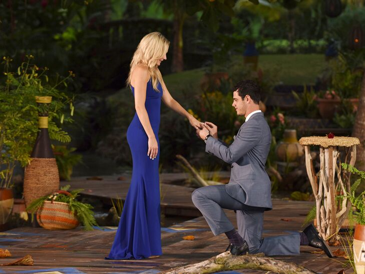 The Bachelor star Ben Higgins and fiancee Lauren Bushnell
