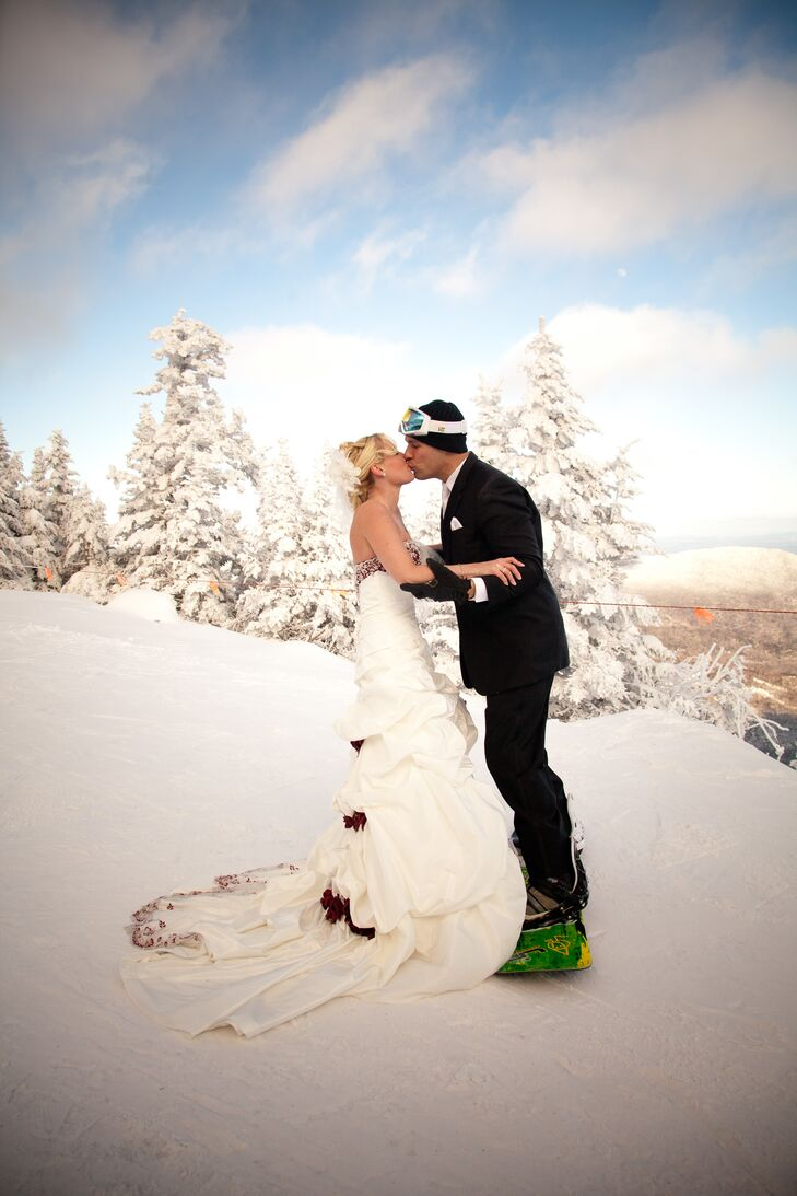 A Winter Mountain Wedding at Stowe Mountain Lodge in Stowe, Vermont