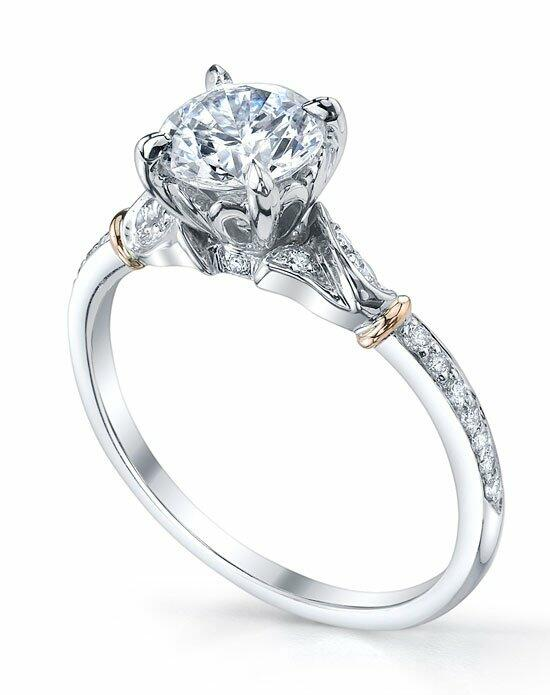 Michael B. MB1-45-LOV2-00 Engagement Ring photo
