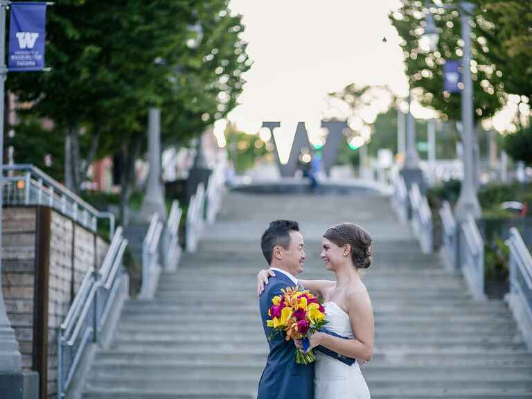 Washington university wedding