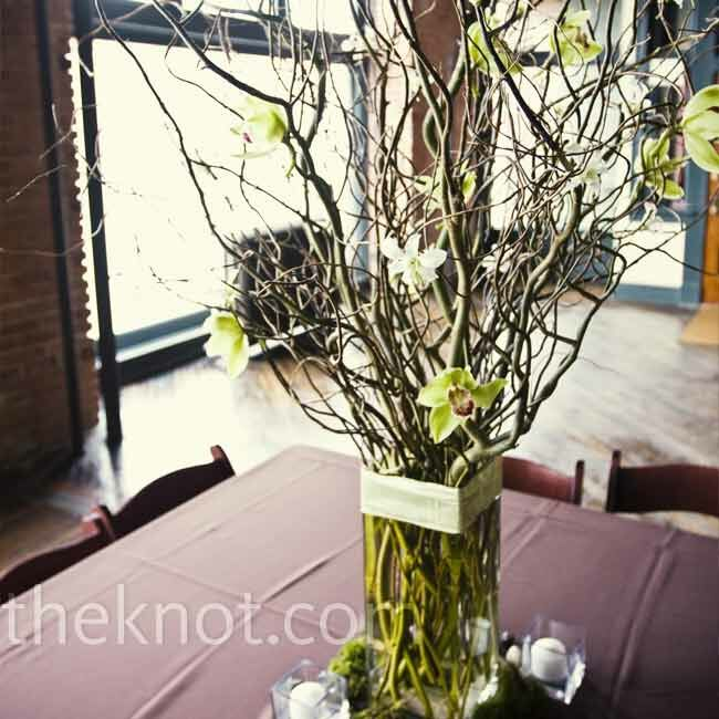 Branch wedding centerpieces