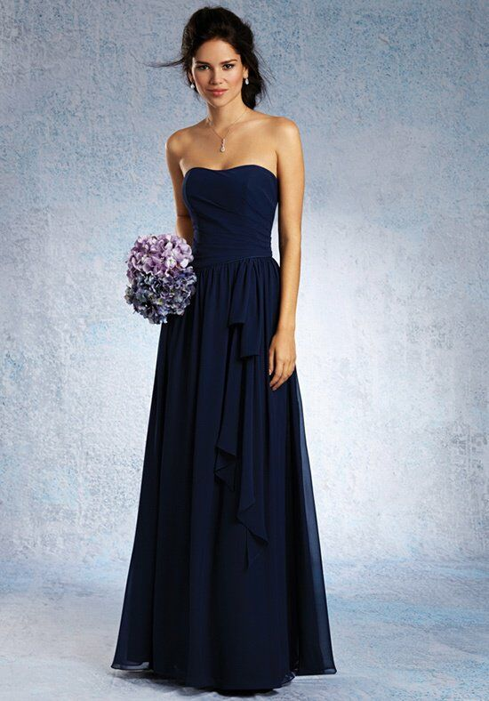 Alfred Angelo Signature Bridesmaids 7324L Bridesmaid Dress photo