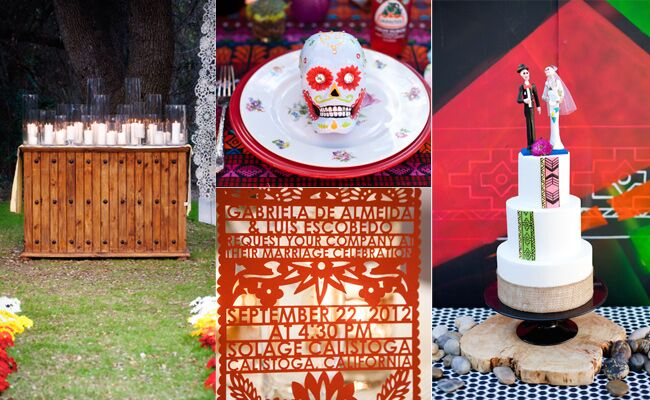 11 Wedding Ideas Inspired by Day of the Dead