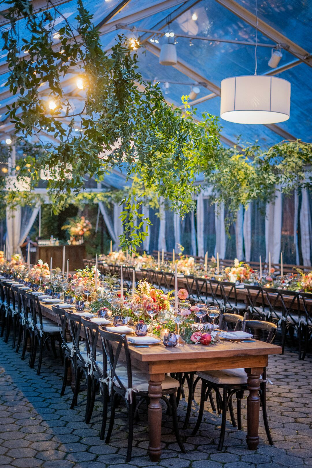 Tented Reception At Central Park Zoo