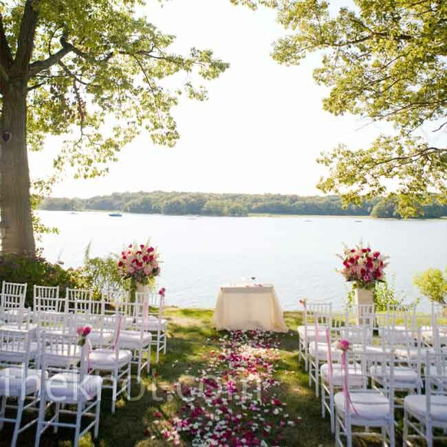 Waterfront Home Design Ideas: A Waterfront Wedding In Rye, NY