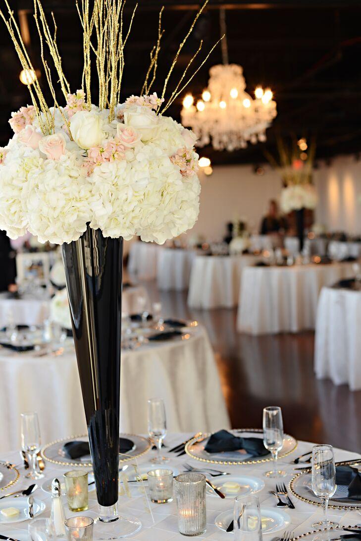 A formal modern wedding in columbus oh