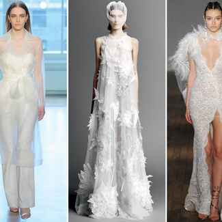 Bridal Fashion Week Spring 2019 Wedding Dresses