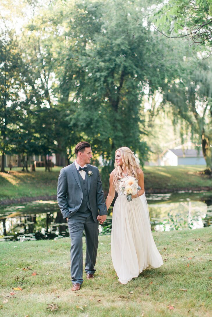 a whimsical backyard wedding at a private residence in chelsea