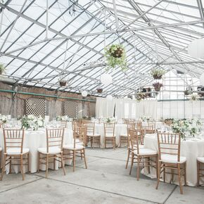 Natural Wedding At Fairmount Park Horticulture Center