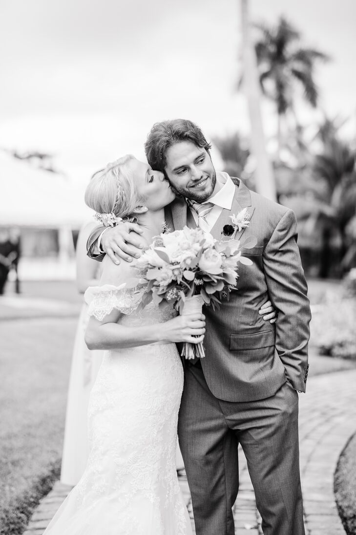 High school sweethearts Erica Quigley (26, advanced registered nurse practitioner at Halifax Health - Keech Pediatric Clinic) and Cole Streets (27, a