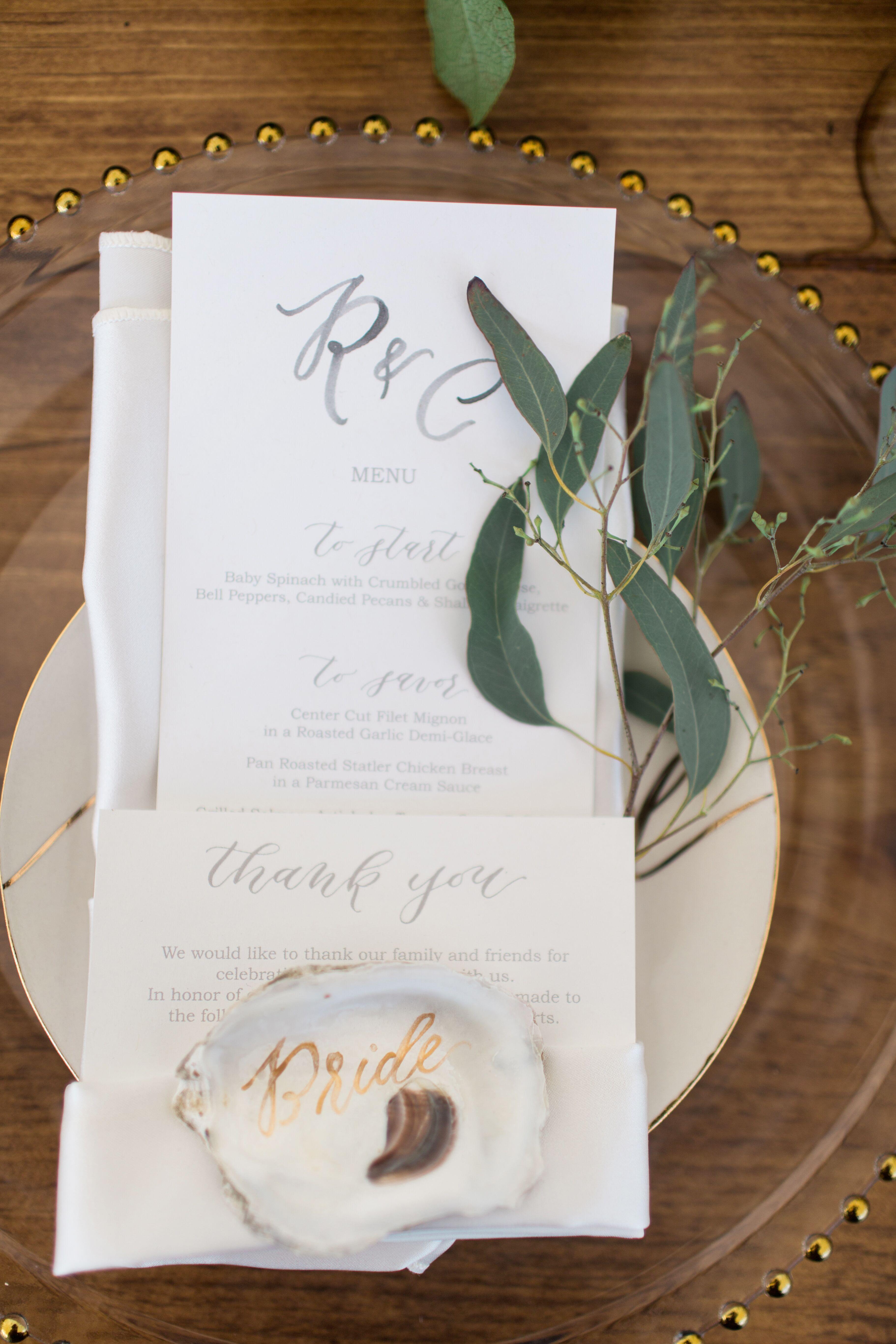 Alternative Wedding Escort + Place Cards