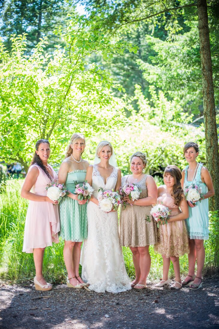 A Romantic Vintage Wedding At The Weatherwood Homestead In