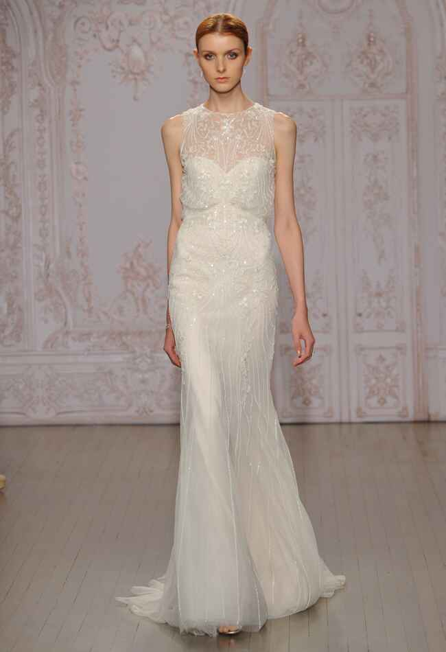 Monique Lhuillier Fall 2015 Wedding Dresses | Kurt Wilberding | blog.theknot.com
