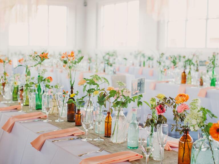 Emerald Green Wedding Pantone Color Of The Year Centerpiece Ideas