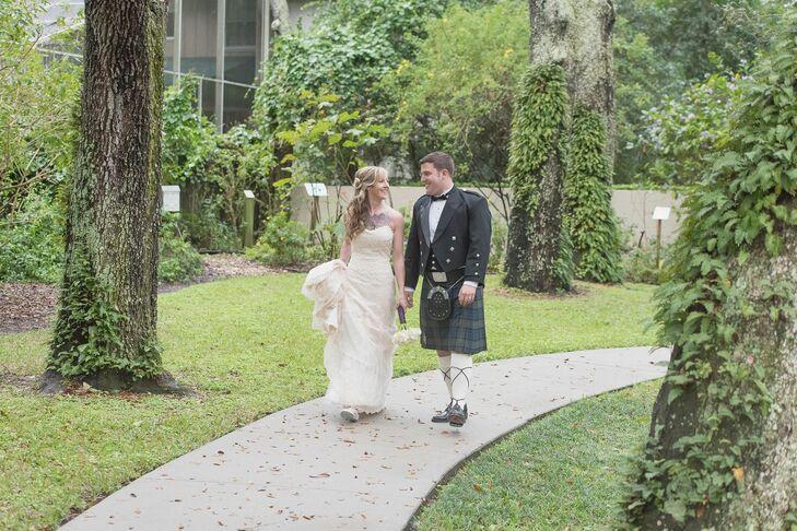 A Scottish Garden Wedding At The Loft Event Lounge In Brandon Florida