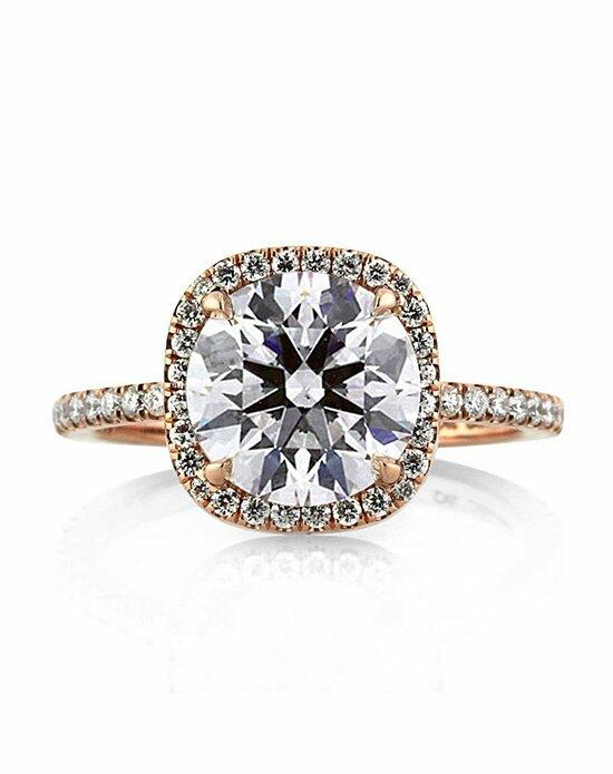 Mark Broumand 2.84ct Round Brilliant Cut Diamond Engagement Wedding Set Engagement Ring photo