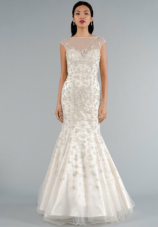 Dennis basso for kleinfeld 14031 wedding dress the knot for Robes de mariage dennis basso