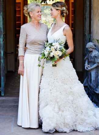 Mother of the bride portrait at Santa Barbara wedding