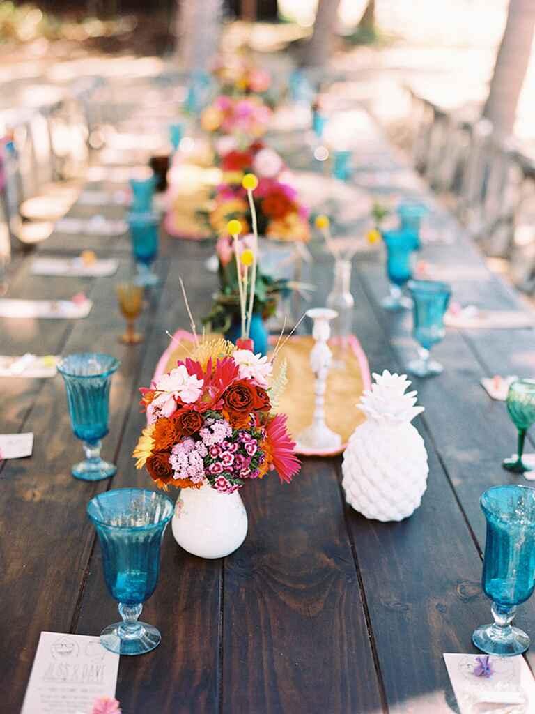 Pineapple Wedding D 233 Cor Ideas
