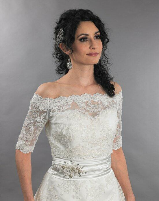 Tulip Bridal Off Shoulder Lace Wedding Jacket Wedding Jackets photo