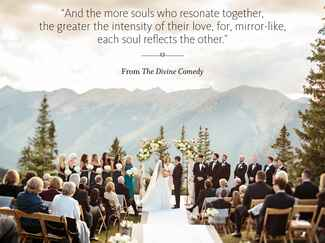 The Divine Comedy wedding ceremony reading