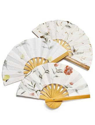 The Knot Wedding Gift Etiquette : The Knot Shop Pick of the Week: Floral Paper Fans
