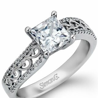 princess cut engagement rings - Wedding And Engagement Rings
