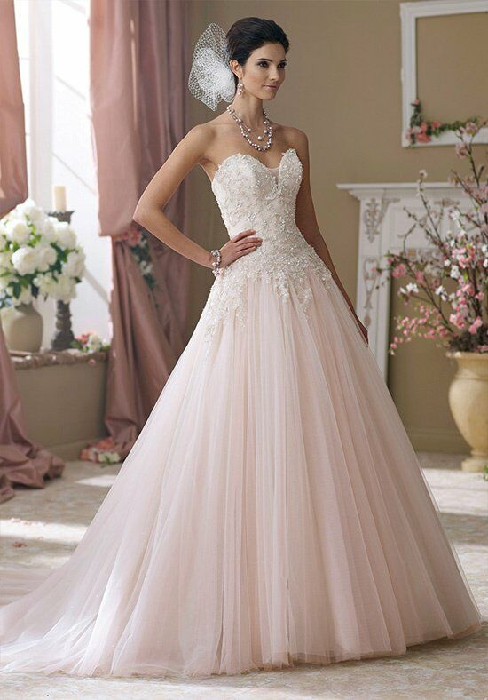 David Tutera for Mon Cheri 214215 Rhi Wedding Dress photo