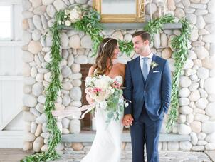 Whimsical wedding photos a whimsical watercolor wedding at the bonnet island estate in manahawkin new jersey junglespirit Image collections