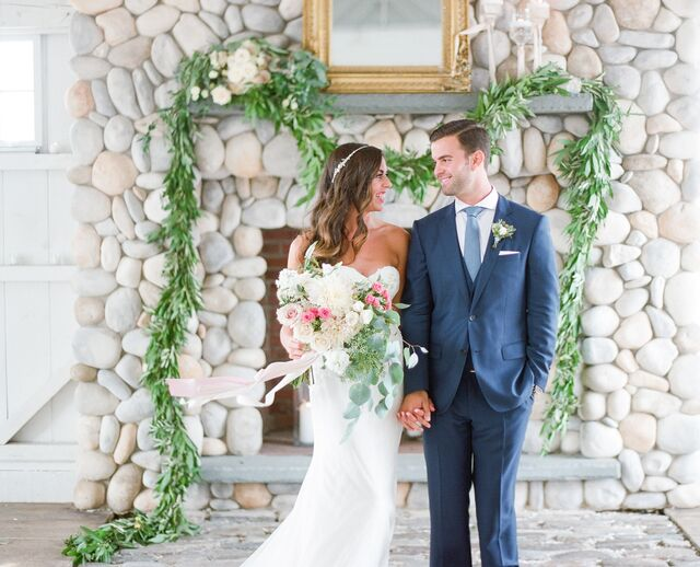 A Whimsical Watercolor Wedding at the Bonnet Island Estate in Manahawkin New Jersey & Ocean Tents and Party Rentals - Manahawkin NJ