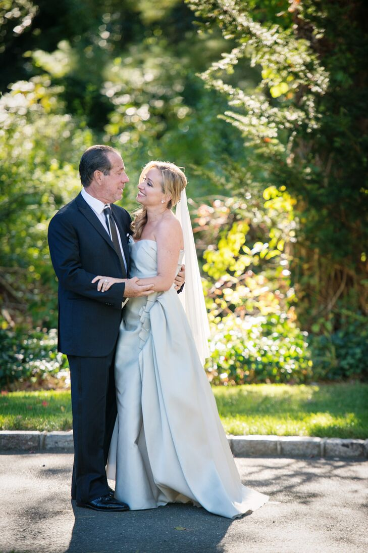 a luxurious backyard wedding at a private residence in old