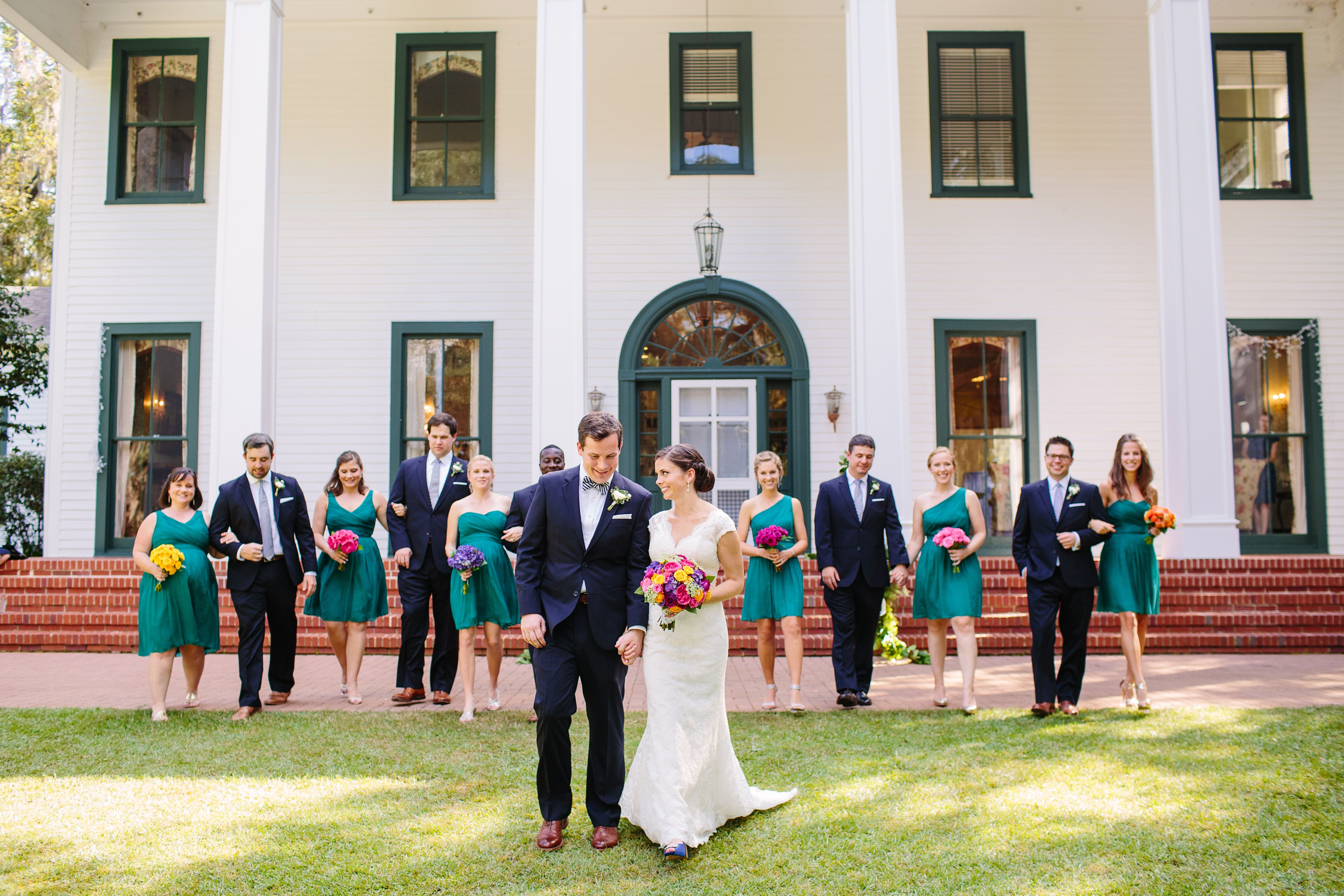 A colorful wedding at the southwood house and cottages in for Southwood house