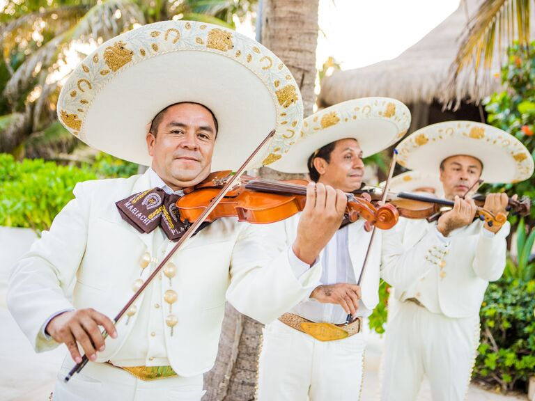 Mariachi band as entertainment