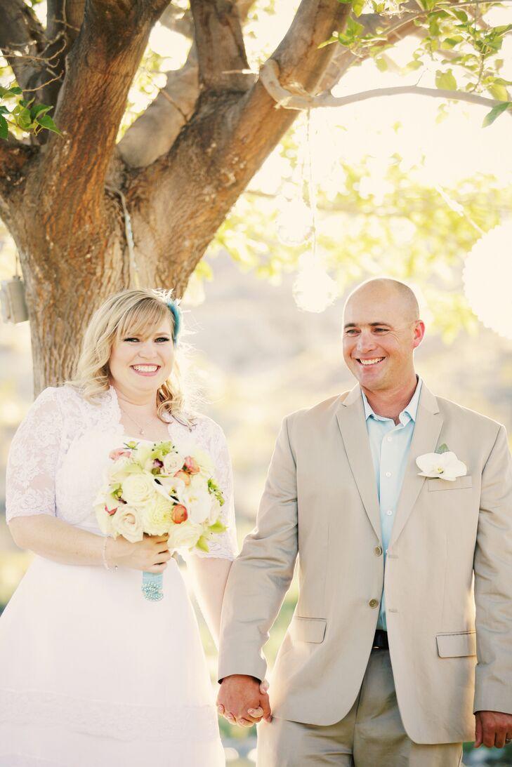A Vintage Beach-Themed Wedding at Lichfield Pond in Toquerville, Utah