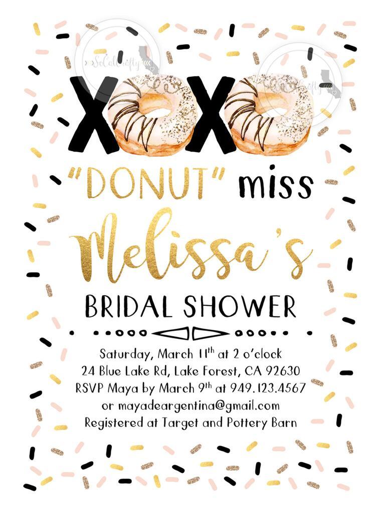 Printable Bridal Shower Invitations You Can DIY