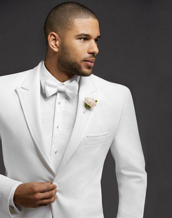 Wedding Menswear White Tuxedos