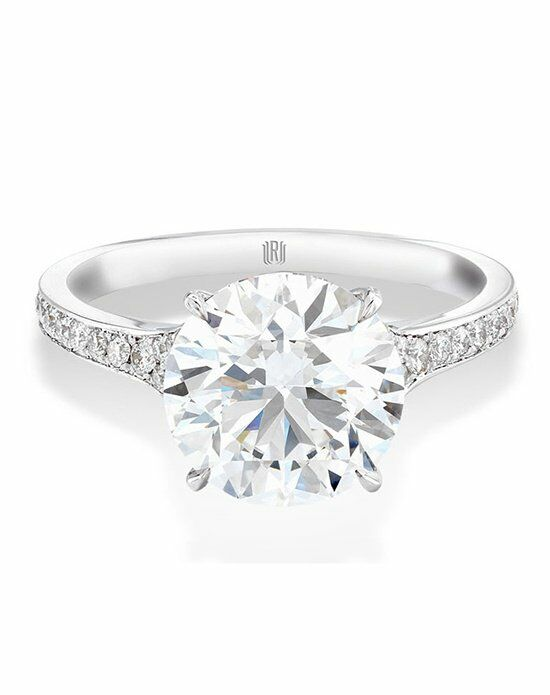 Forevermark Diamond Engagement Rings TAPERED MELEE SOLITAIRE RING/FMR641003 Engagement Ring photo