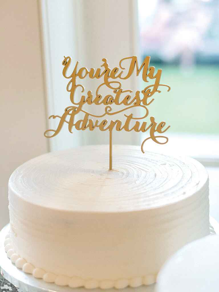 simple one layer wedding cakes simple and unique wedding cake inspiration 20000