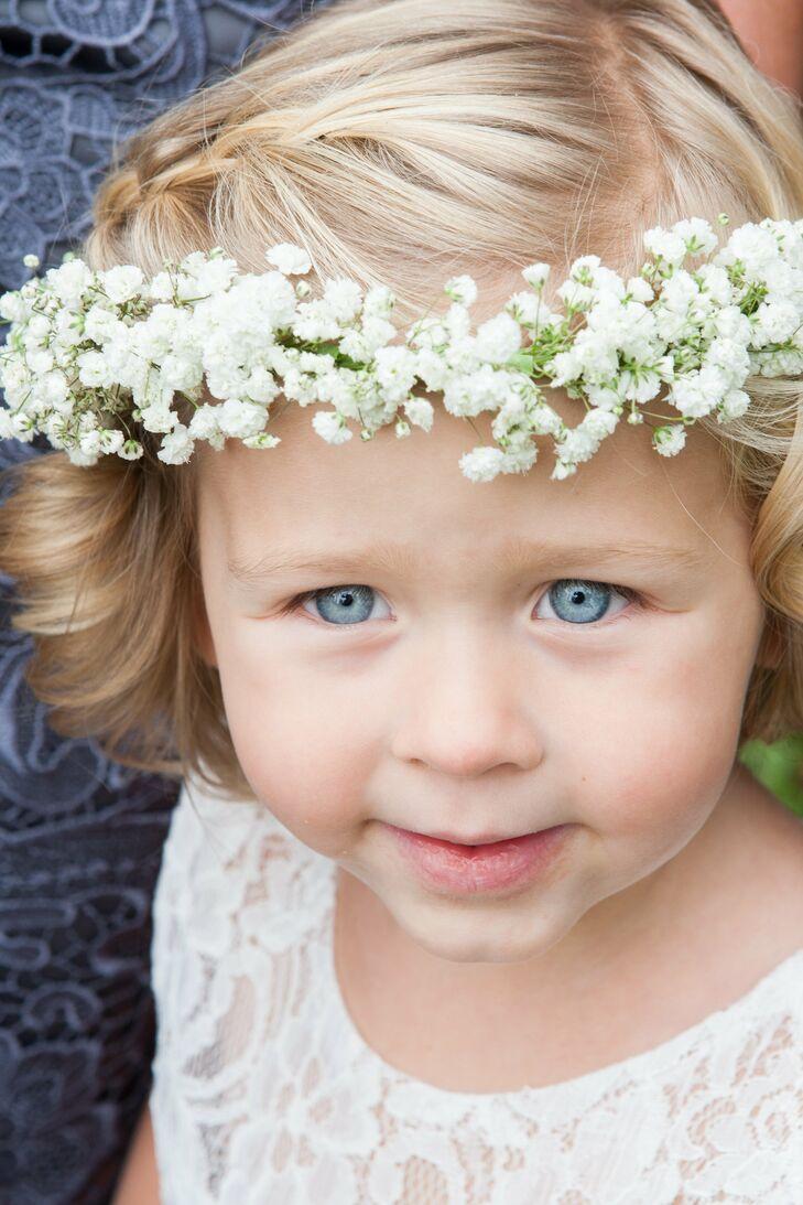 Babys breath flower girl crown izmirmasajfo