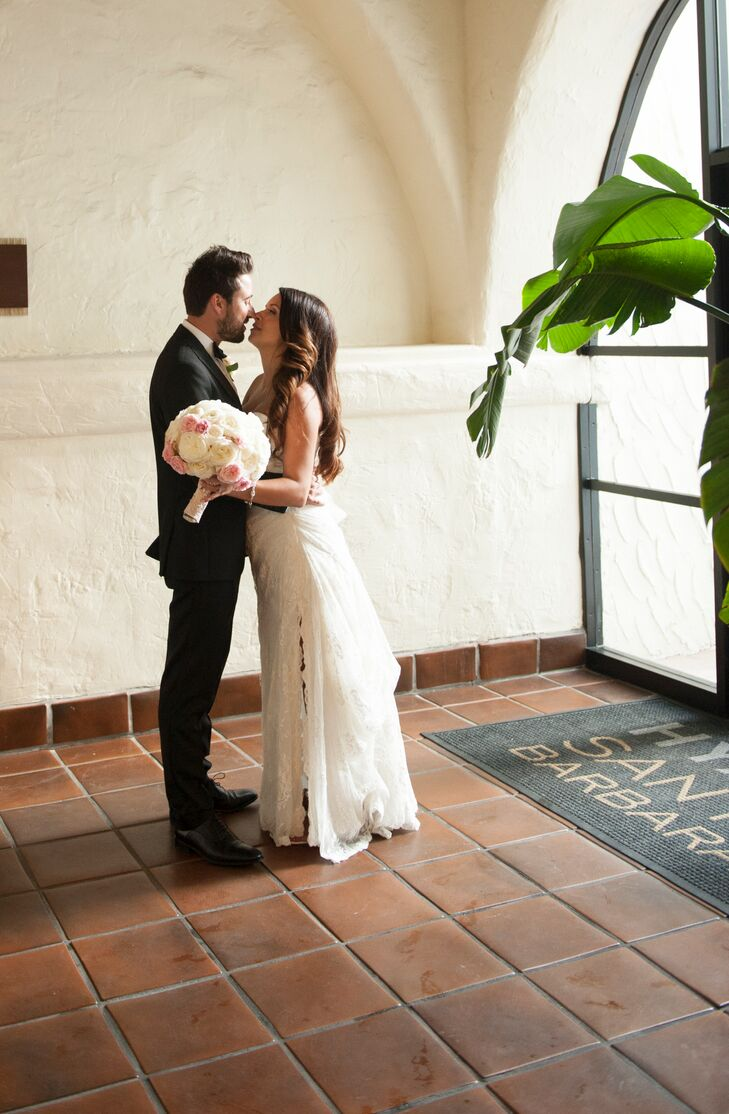 A Formal Beach Wedding At The Hyatt Santa Barbara In California