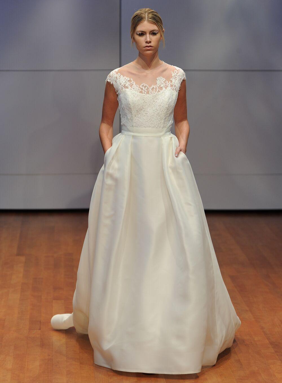 Groß Monique Lhuillier Brautkleid Preisspanne Bilder - Hochzeit ...