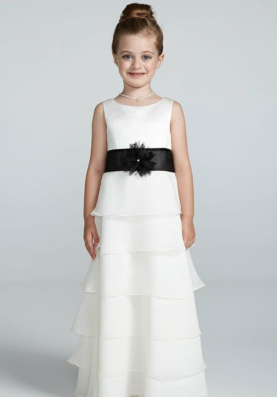 David's Bridal Juniors H1142 Flower Girl Dress photo
