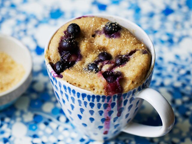 Cookbook Crave: 4 Crazy-Quick Microwaved Desserts from Mug Cakes