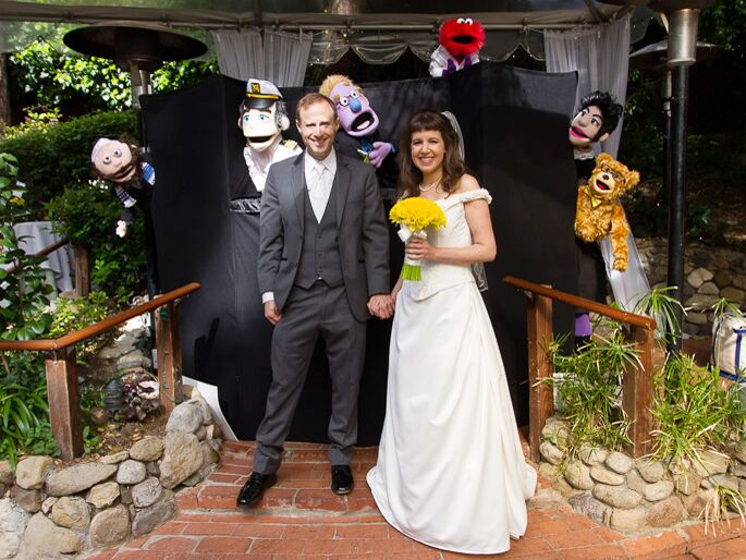 These Puppets Officiated A California Wedding And We Love It